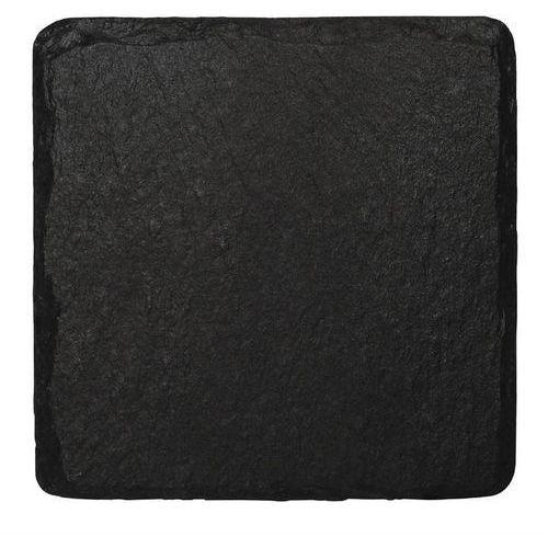 Olympia Taca z łupka naturalnego kwadratowa | 4 szt. | 13x13cm