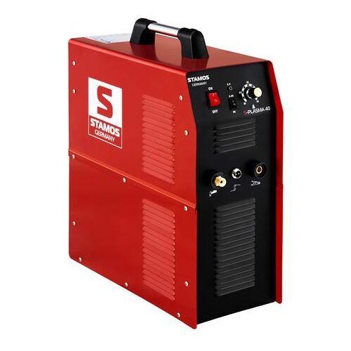 Przecinarka plazmowa - 40 A - 230 V STAMOS 10020210 S-PLASMA 40 (4250928641182)