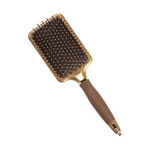 nano thermic paddle | płaska szczotka do wygładzania włosów marki Olivia garden