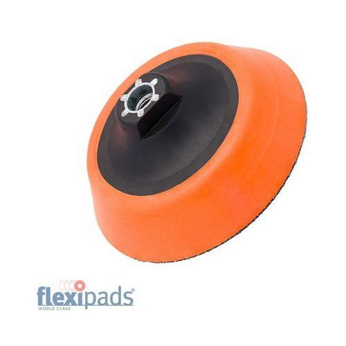 Flexipads talerz mocujący 125mm z rzepem,ultra soft, gwint m14, pianka 25mm