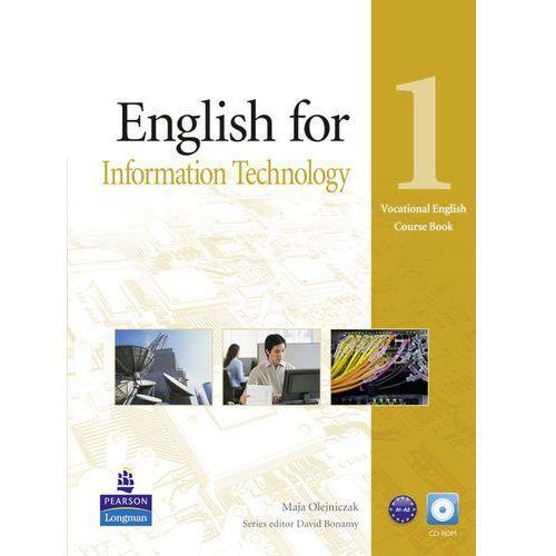Vocational English: English for IT, Level 1, Coursebook (podręcznik) plus CD-ROM, Longman Group