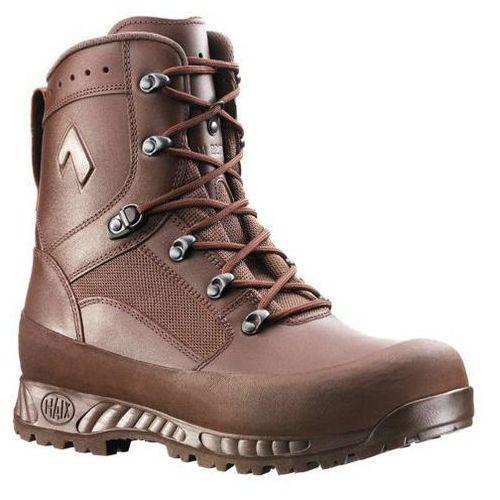 Buty wojskowe brytyjskie  combat high liability gore-tex brown ii (206249), marki Haix