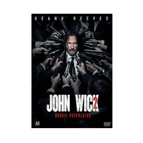John wick 2 (dvd) + książka marki Monolith