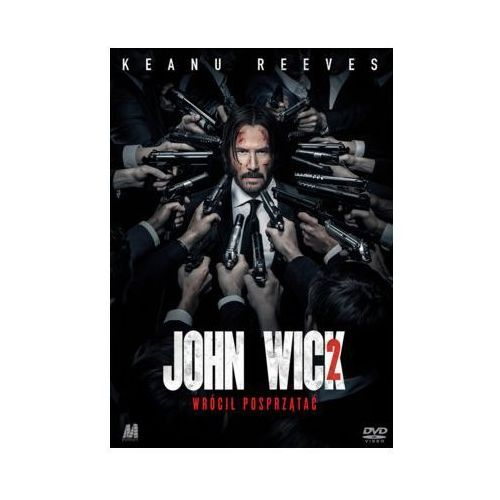 Monolith John wick 2 (dvd) + książka