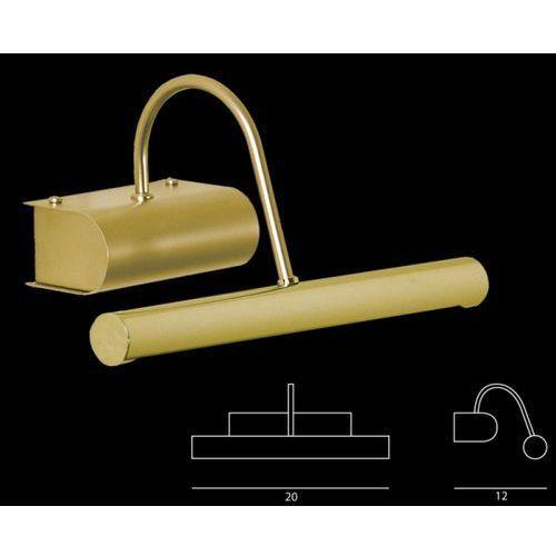 Ramko Kinkiet galeria flox złoto-satyna od ręki - jedna sztuka!, 66277
