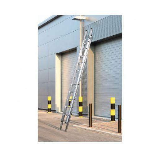 Dwuczęściowa drabina aluminiowa, 2x11 stopni, 5,34 m marki B2b partner
