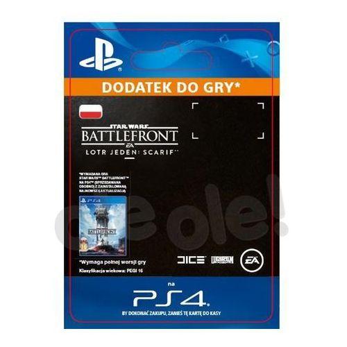 Star wars battlefront - łotr jeden: scarif dlc [kod aktywacyjny] marki Sony