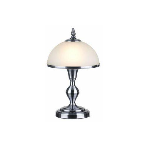 Lampa stołowa lampka Reality Lindgard 1x40W E14 nikiel mat 508701-07