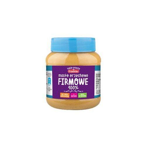 Masło orzechowe FIRMOWE 100 % orzechów 350 g Primavika