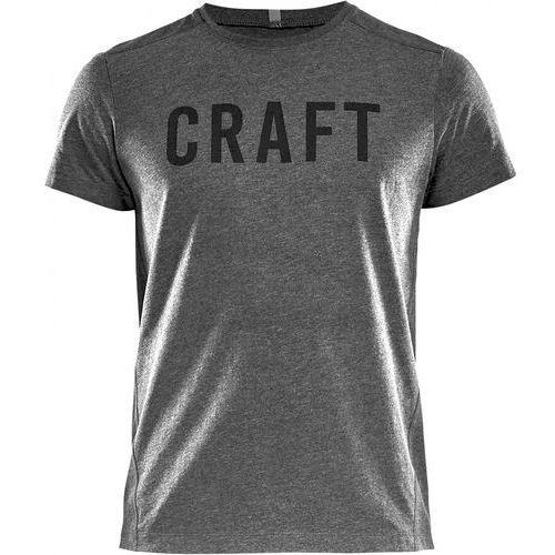 Craft T-shirt męski Deft SS, szary L, kolor szary