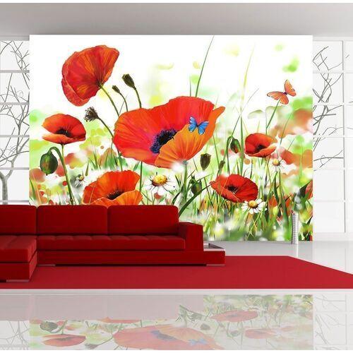 Fototapeta - country poppies marki Artgeist