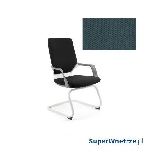 Unique Krzesło biurowe apollo skid steelblue