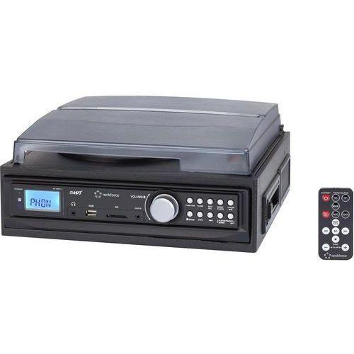 Gramofon Renkforce MT-88WEC czarny (4016139141541)