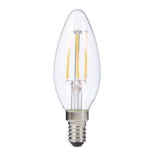 Żarówka LED Diall Filament ściemnialna B35 E14 4 5 W 470 lm przezroczysta barwa ciepła