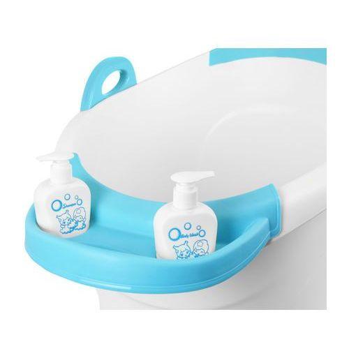 Wanienka do kąpieli wiaderko 55 x 44 cm 6722 niebieska - niebieski marki Kindersafe