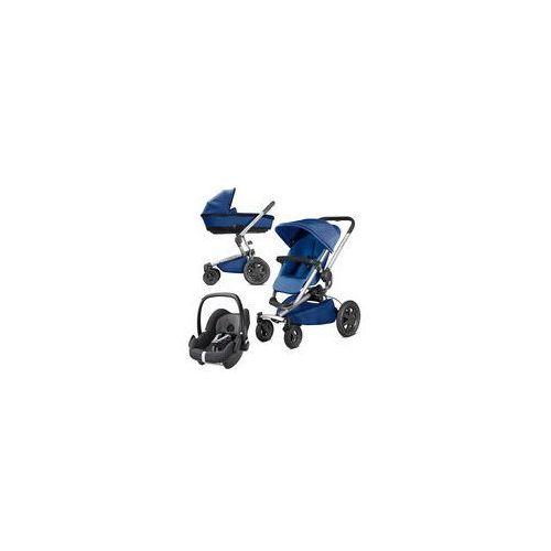 W�zek wielofunkcyjny 3w1 Buzz Xtra + Pebble Quinny (Blue Base)