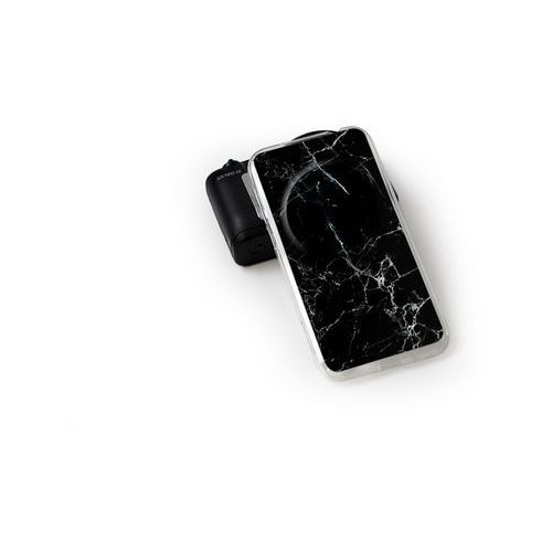 Fantastic Case - Asus Zenfone Zoom - etui na telefon Fantastic Case - czarny marmur - produkt z kategorii- Futerały i pokrowce do telefonów