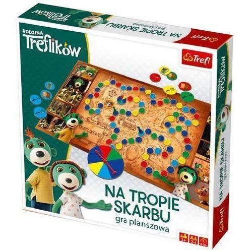 Trefl Gra na tropie skarbu - rodzina ikow