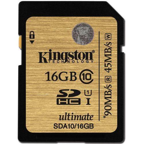 karta pamięci ultimate sdhc 16gb c10/ush-1 marki Kingston
