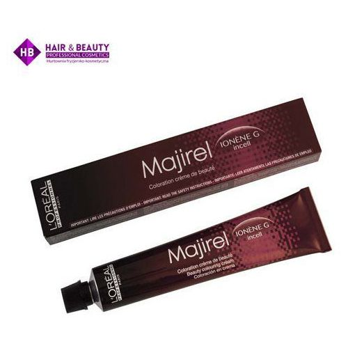 Loreal Majirel | Trwała farba do włosów - kolor 7.8 blond mokka - 50ml, kolor blond