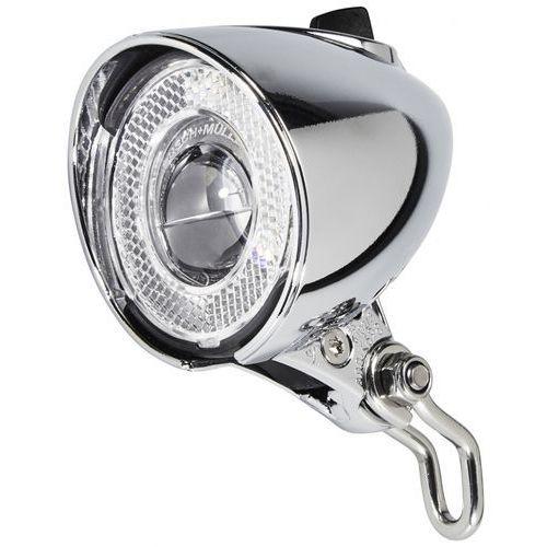 Busch + müller lumotec classic n plus dynamo rowerowe srebrny lampy na dynamo (4006021008236)