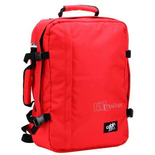 Cabinzero classic 44l torba podróżna podręczna / kabinowa / plecak / czerwony - mysore red (5060368840095)