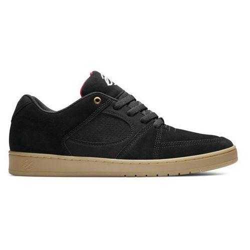 buty ÉS - Accel Slim Black/Gum (964) rozmiar: 42, kolor czarny