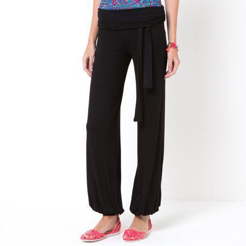 Szerokie spodnie z dzianiny (3613955734639)