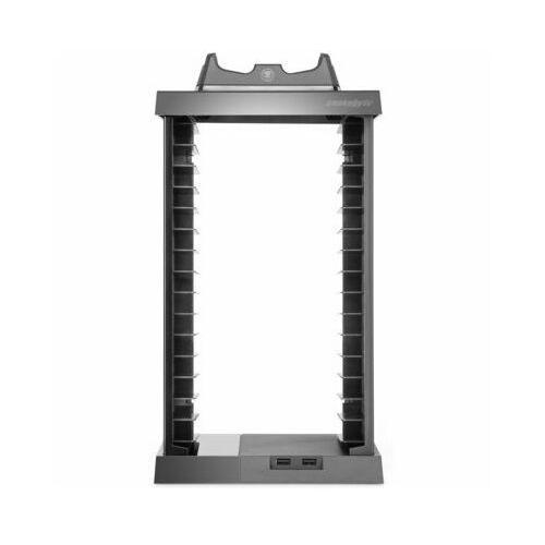 Snakebyte Organizer charge:tower pro z ładowarką do kontrolerów dualshock 4