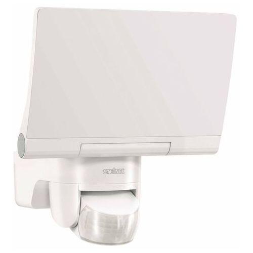 sensor led-strahler xled home 2 białe – modna reflektor z w pełni ruchomym panel led, 14.8 w reflektor led z czujnikiem ruchu 140 ° i maks. zasięg działania 14 m, reflektor z jasność 1184 lm i jedną barwa światła: 4000 k (neutralny biały), szlachetny wygląd, opal 033088 [klasa efektywności energetycznej a + + to a] marki Steinel