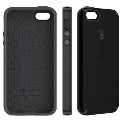 Speck CandyShell - Etui iPhone SE / iPhone 5s / iPhone 5 (Black/Slate Grey)