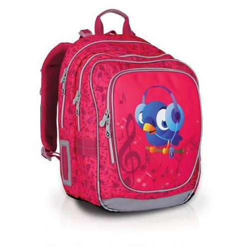 Plecak szkolny chi 739 h - pink marki Topgal