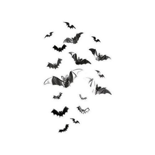 Naklejki nietoperze na halloween - 17 naklejek marki Go