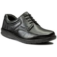 Półbuty LASOCKI FOR MEN - MI07-A622-A482-01 Czarny, w 5 rozmiarach