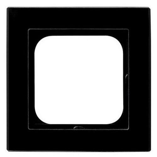 Ramka pojedyncza sonata r-1rg/32 pozioma i pionowa szkło czarna marki Ospel