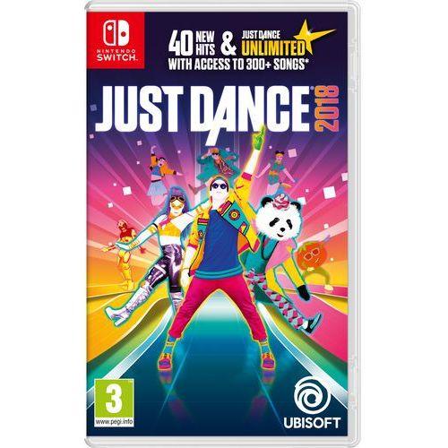 Gra nintendo switch just dance 2018 marki Ubisoft