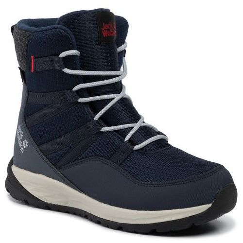 Śniegowce JACK WOLFSKIN - Polar Bear Texapore High K 4036141 Dark Blue/Off White