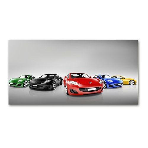 Obraz zdjęcie akryl Kolorowe samochody