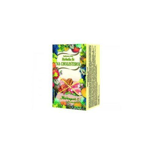 Herbatka fix na cholesterol marki Herbapol