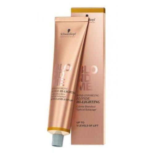 Schwarzkopf Professional Blondme rozjaśniacz w krem H - Warm Gold (Up to 5 Levels of Lift) 60 ml