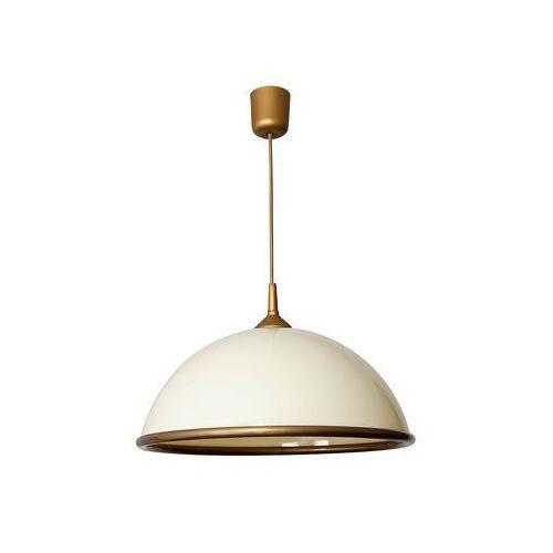 Lampa wisząca zwis żyrandol Luminex Kuchnia 1x60W E27 kremowy 4870
