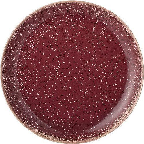 Talerz joëlle czerwony 20 cm marki Bloomingville