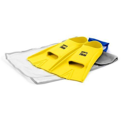 Born to swim silikonowe płetwy – yellow 42-44