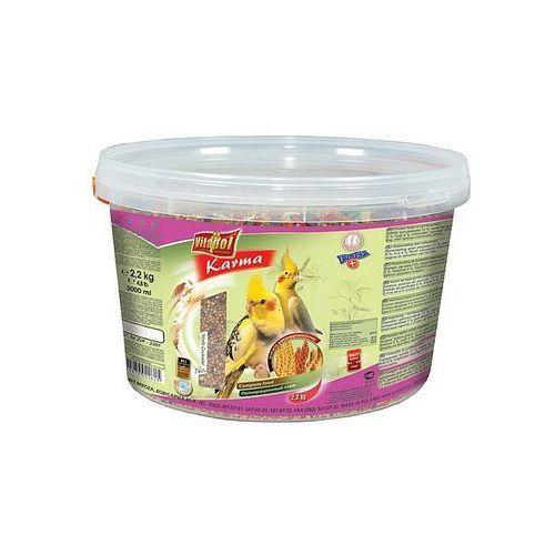 Vitapol Pokarm dla nimfy wiaderko 3L / 2,2kg [2261], 6045 (1914975)