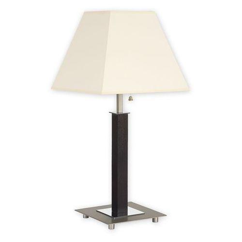 Inari lampka stołowa duża 1 pł. / satyna + chrom + drewno (wenge), dodaj produkt do koszyka i uzyskaj rabat -10% taniej! marki Lemir