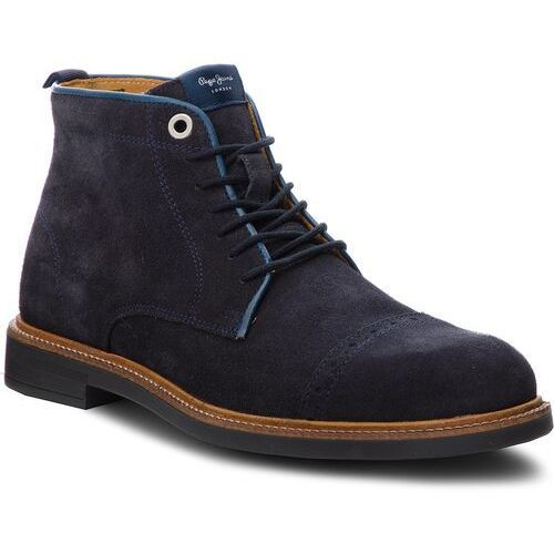 Trzewiki PEPE JEANS - Axel Boot PMS50169 Navy 595
