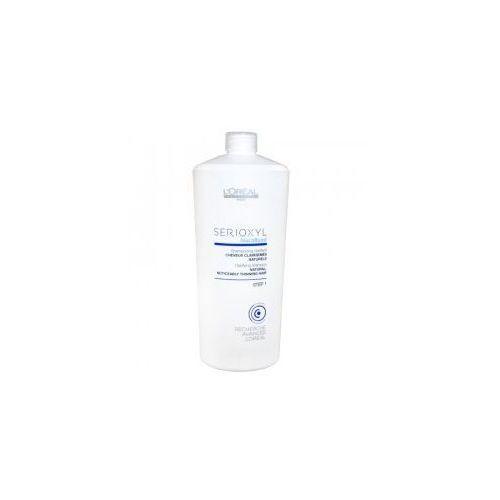 Loreal serioxyl, krok 1 szampon oczyszczający, do włosów naturalnych, 1000ml marki Loreal professionnel