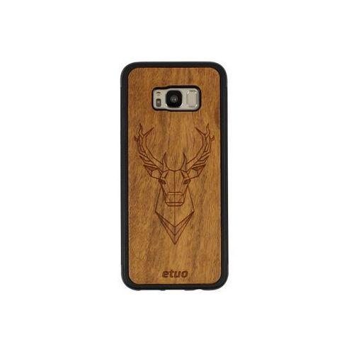 Etuo wood case Samsung galaxy s8 plus - etui na telefon wood case - jeleń - imbuia