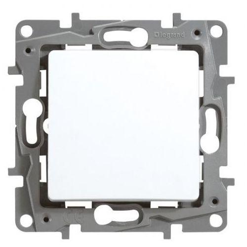 Legrand Przycisk zwierny niloe 764522 podświetlany pojedynczy z lampką led 230v biały (3414970682437)