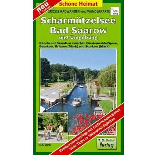 Doktor Barthel Karte Scharmützelsee / Bad Saarow und Umgebung (9783895910807)